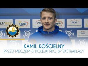 TV Stal: Kamil Kościelny przed meczem 8. kolejki PKO BP Ekstraklasy