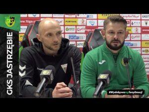 [GKS TV] Konferencja prasowa po meczu w Tychach