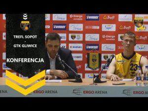 Konferencja po meczu Trefl Sopot – GTK Gliwice | Trefl Sopot