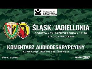 Śląsk Wrocław – Jagiellonia Białystok (Komentarz na żywo)