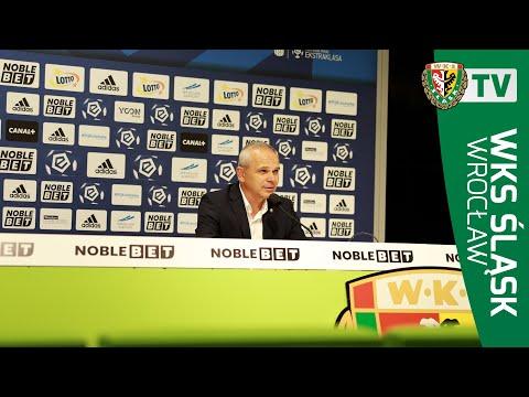 Konferencja prasowa po meczu Śląsk – Jagiellonia