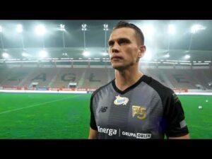 Bartosz Kopacz po meczu Zagłębie Lubin – Lechia Gdańsk 1:1 (23.10.2020)