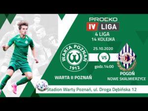 Transmisja meczu: Warta II Poznań – Pogoń Nowe Skalmierzyce