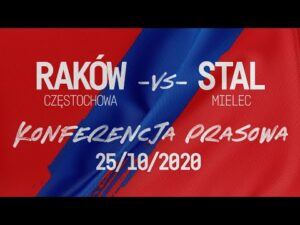 Read more about the article Konferencja po meczu Raków Częstochowa – Stal Mielec