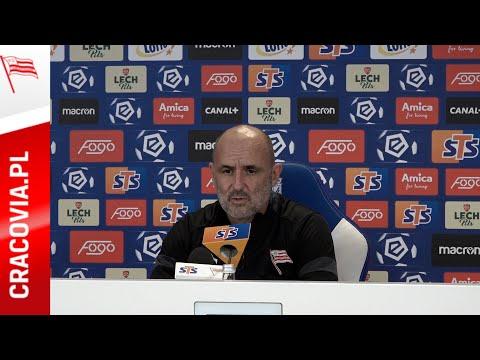 Trener Michał Probierz po meczu z Lechem Poznań (25.10.2020)