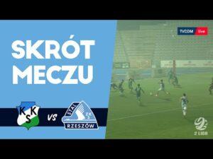 KKS Kalisz – Stal Rzeszów 0-2 (skrót meczu)
