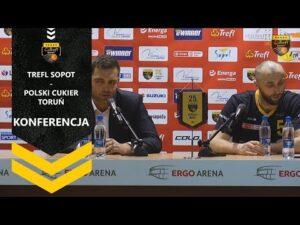 Konferencja po meczu Trefl Sopot – Polski Cukier Toruń | Trefl Sopot