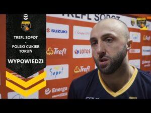 Wypowiedzi po meczu Trefl Sopot – Polski Cukier Toruń | Trefl Sopot