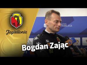 Wypowiedź przed meczem z Pogonią – Bogdan Zając