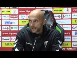7. kolejka Fortuna1Liga: Konferencja prasowa po meczu GKS Tychy – Korona Kielce 0:1