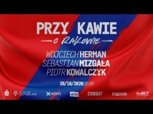 Przy kawie o Rakowie: Wojciech Herman, Sebastian Mizgała i Piotr Kowalczyk