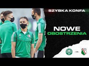 Read more about the article SZYBKA KONFA: Nowe obostrzenia, występ Miszty, odwołany mecz