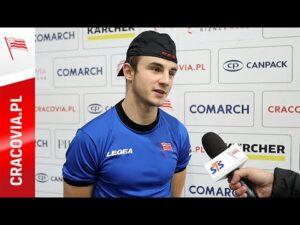 Łukasz Kamiński po meczu z GKS Tychy (30.10.2020)