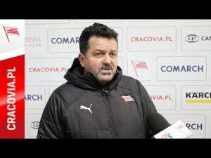 Rudolf Roháček po meczu z GKS Tychy (30.10.2020)