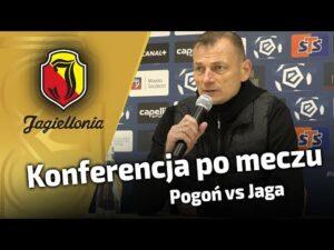 Konferencja po meczu – Pogoń vs Jaga