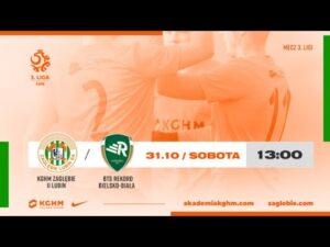 Read more about the article III Liga | KGHM Zagłębie II Lubin – BTS Rekord Bielsko – Biała | LIVE