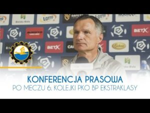 TV Stal: Konferencja prasowa po meczu 6. kolejki PKO BP Ekstraklasy