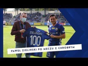 MIEDZ TV Paweł Zieliński ocenia mecz z Chrobrym Głogów