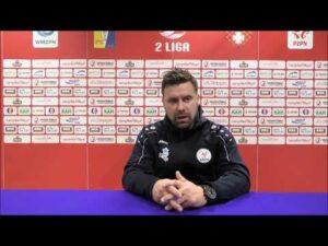 Konferencja po meczu Olimpia Elbląg 4:2 Błękitni Stargard | 15. kolejka | 2. Liga | 28.11.2020