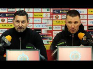 Read more about the article Chrobry Głogów – Sandecja 0-2 (0-1), pomeczowa konferencja prasowa
