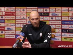 14. kolejka Fortuna1Liga: Konferencja prasowa po meczu Bruk-Bet Termalica Nieciecza – GKS Tychy 0:0