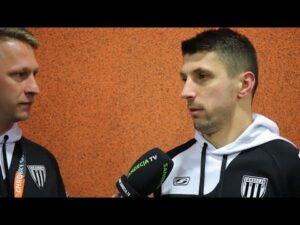 2020-11-28 Chrobry Głogów – Sandecja 0-2 (0-1), Maciej Małkowski