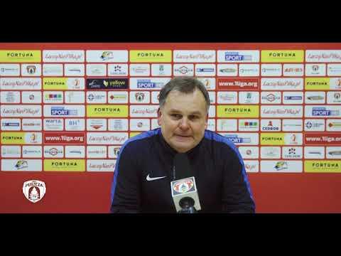 Tomasz Tułacz po porażce ze Stomilem   PUSZCZA TV