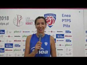 Klaudia Kaczorowska   Enea PTPS Piła