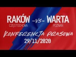 Read more about the article Konferencja po meczu Raków Częstochowa – Warta Poznań