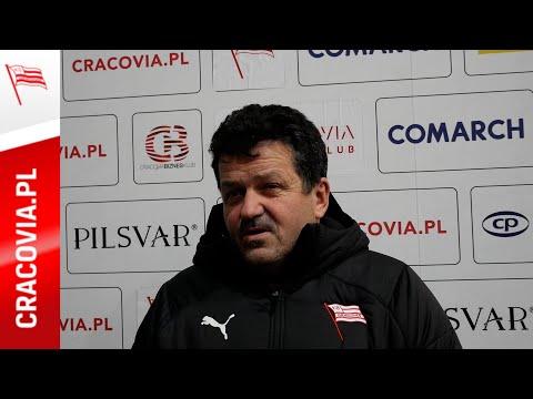 Rudolf Roháček po meczu z KH Energa Toruń (29.11.2020)