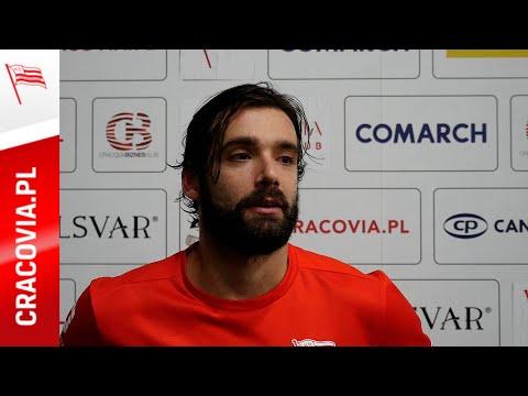 Luke Ferrara po meczu z KH Energa Toruń (29.11.2020) [NAPISY DOSTĘPNE W MENU]