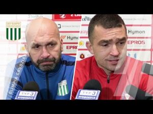 Konferencja prasowa po meczu Olimpia Grudziądz – Garbarnia Kraków (1:2)