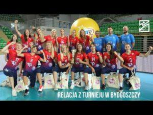 Najlepsze akcje turnieju siatkówki kobiet w Bydgoszczy (21-23.08.2020)