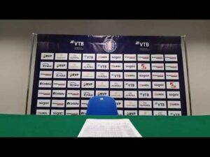 Zastal Enea BC Zielona Góra – Tsmoki Mińsk /Press Conference