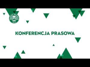 Konferencja prasowa po meczu z Legią Warszawa