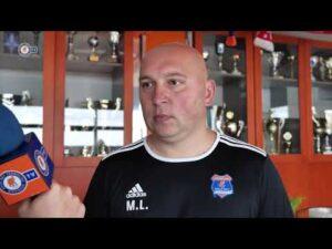 Trener Mariusz Lewandowski przed meczem z Chrobrym