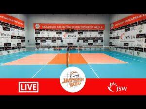 LIVE: Akademia Talentów Jastrzębski Węgiel II – Eco-Team AZS Stoelzle Częstochowa Śląska Liga Junior