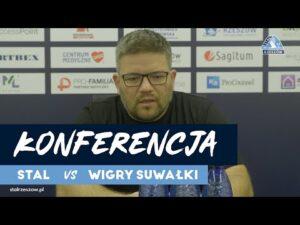 Konferencja po meczu Stal Rzeszów – Wigry Suwałki (04.11.2020)