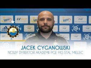 TV Stal: Jacek Cyganowski nowy dyrektor Akademii PGE FKS Stal Mielec