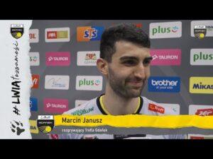 Marcin Janusz po zwycięstwie z VERVĄ Warszawa | Trefl Gdańsk