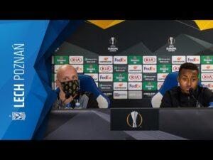 KONFERENCJA prasowa STANDARDU LIEGE przed meczem z LECHEM POZNAŃ