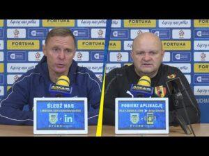 Puchar Polski Arka Gdynia – Korona Kielce  2-0: Konferencja prasowa