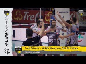 #gdańskielwy zwycięskie w pierwszym tie-breaku w ERGO ARENIE – kulisy meczu z VERVĄ | Trefl Gdańsk