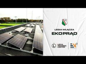 "Read more about the article ""Legia włącza ekoprąd"" – partnerstwo Legii i EN2 Fotowoltaika"