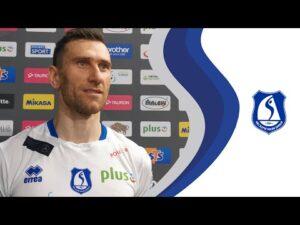 Read more about the article Ślepsk TV – Łukasz Kaczorowski po meczu z Jastrzębskim Węglem (05.11.20)