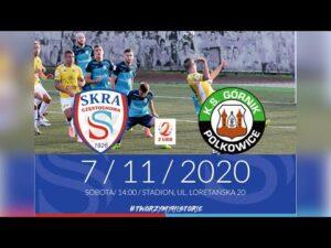 [NA ŻYWO] Skra Częstochowa – Górnik Polkowice – 7.11.2020