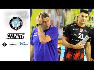 Read more about the article CzarniTV: Robert Prygiel i Karol Butryn po meczu w hali MOSiR