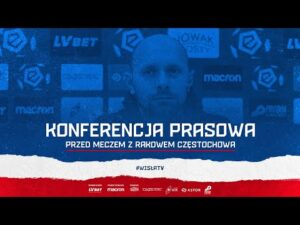 Konferencja prasowa przed meczem z Rakowem Częstochowa