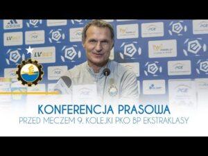 TV Stal: Konferencja prasowa przed meczem 9. kolejki PKO BP Ekstraklasy
