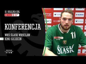 #12 Konferencja prasowa po meczu WKS Śląsk Wrocław – King Szczecin (06.11.2020 r.)